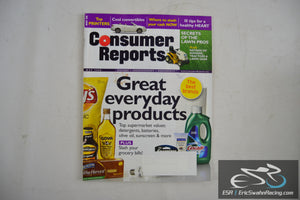 Consumer Reports Magazine - Great Everyday Products Vol 73.5 May 2008