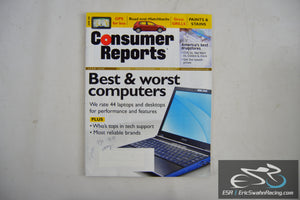 Consumer Reports Magazine - Best & Worst Computers Vol 73.6 June 2008