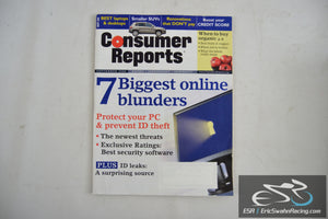Consumer Reports Magazine - 7 Biggest Online Blunders Vol 73.9 September 2008