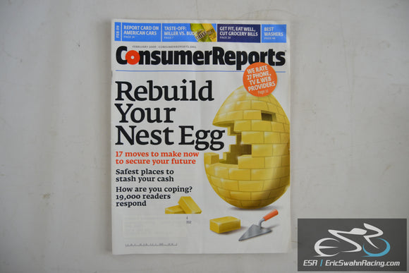 Consumer Reports Magazine - Rebuild Your Nest Egg Vol 74.2 February 2009