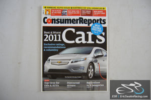 Consumer Reports Magazine - Best & Worst 2011 Cars Vol 76.4 April 2011