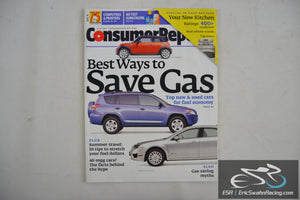 Consumer Reports Magazine - Best Ways to Save Gas Vol 76.7 July 2011
