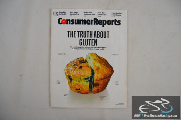Consumer Reports Magazine - The Truth About Gluten Vol 80.1 January 2015