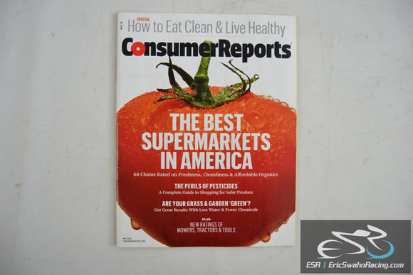 Consumer Reports Magazine - The Best Supermarkets In America Vol 80.5 May 2015
