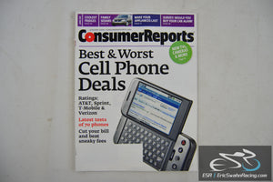 Consumer Reports Magazine - Best & Worst Cell Phone Deals Vol 74.1 January 2009
