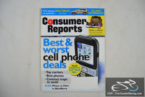 Consumer Reports Magazine - Best & Worst Cell Phone Deals Vol 73.1 January 2008