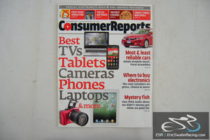 Consumer Reports Magazine - Best TVs Tablets Cameras Phones V76.12 December 2011