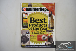 Consumer Reports Magazine - Best Products of the Year Vol 77.11 November 2012