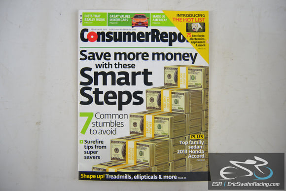 Consumer Reports Magazine - Save More Money with these Smart Steps V78.2 Feb 13