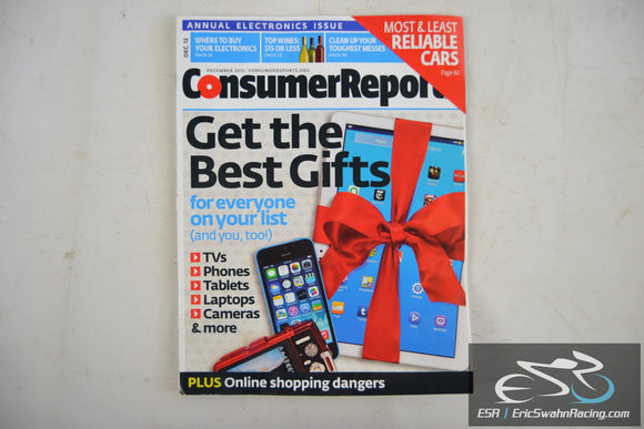 Consumer Reports Magazine - Get the Best Gifts Vol 78.12 December 2013