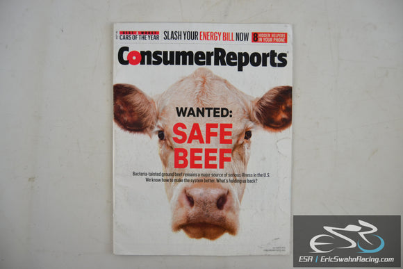 Consumer Reports Magazine - Wanted: Safe Beef Vol 80.10 October 2015