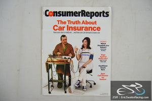 Consumer Reports Magazine - The Truth About Car Insurance Vol 80.9 Sept 2015