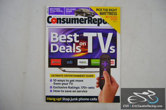Consumer Reports Magazine - Best Deals on TVs Vol 79.3 March 2014