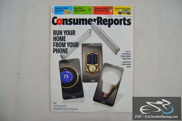 Consumer Reports Magazine - Run Your Home From Your Phone Vol 79.6 June 2014
