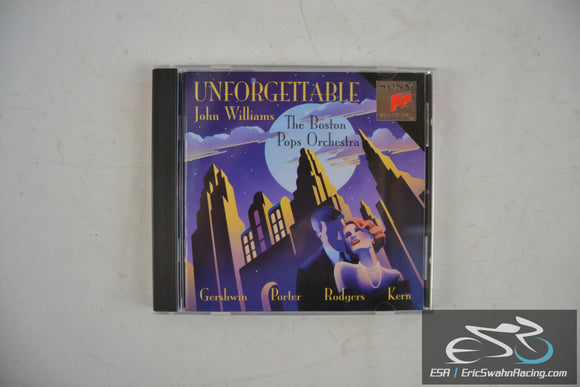 Unforgettable - The Boston Pops Orchestra, John Williams Audio CD 1993