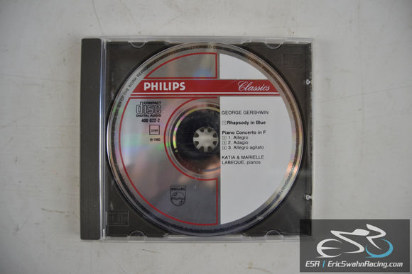 George Gershwin Audio CD 1980 Philips Classics