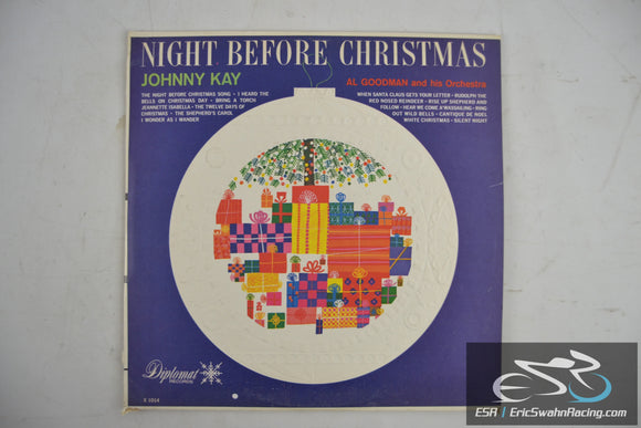 Night Before Christmas - Johnny Kay & Al Goodman and his Orchestra Vinyl 33/12