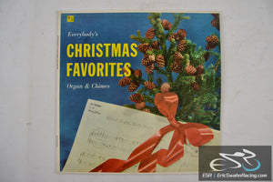 "Everybody's Christmas Favorites Organ & Chimes 33/12"" Vinyl Masterseal Records"