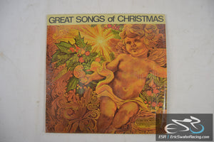 "Great Songs of Christmas 33/12"" Vinyl Columbia Records - Goodyear"