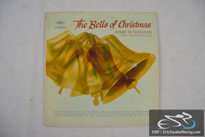 "The Bells of Christmas - Eddie Dunstedter 33/12"" Vinyl Capitol Records"
