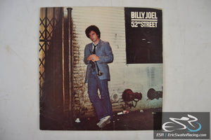 "Billy Joel 52nd Street 33/12"" Vinyl Columbia Records"