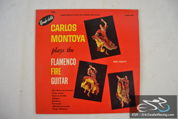 Carlos Montoya plays the Flamenco Fire Guitar 33/12