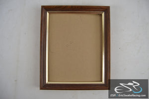 "Wood Picture Frame Fits 9.5x7.5"" Pictures Wall Hang Only"