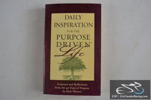 Daily Inspiration for the Purpose Driven Life Paperback Book 2003 Rick Warren