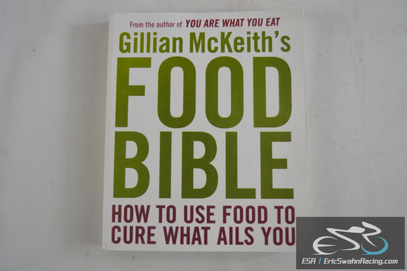 Gillian McKeith's Food Bible Paperback Book 2009 Plume Publishers