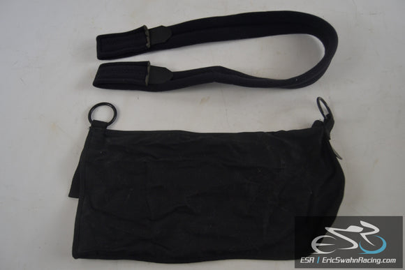 Bird & Cronin Black Latex Free Arm Sling With Strap - Standard Size