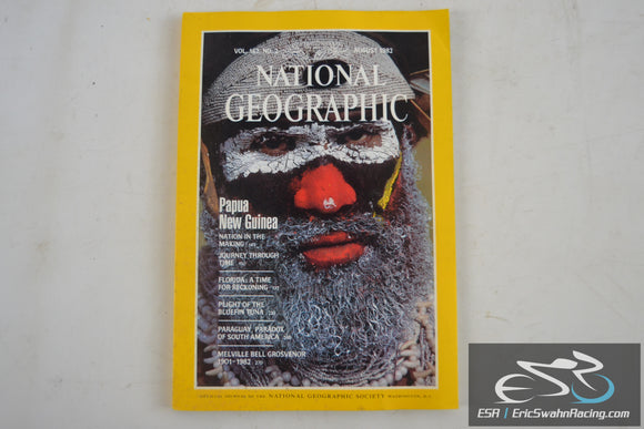 National Geographic Magazine - Papua New Guinea Vol 162.2 August 1982
