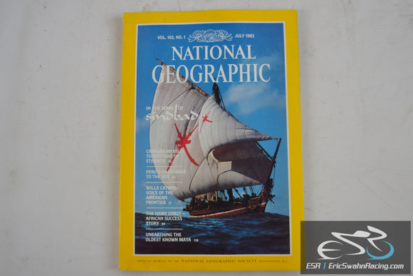National Geographic Magazine - Sinbad Vol 162.1 July 1982