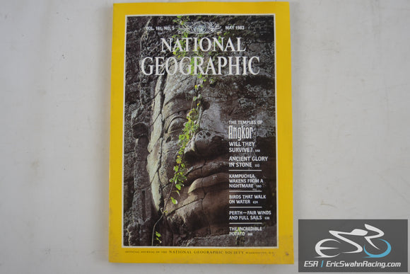 National Geographic Magazine - Angkor Vol 161.5 May 1982