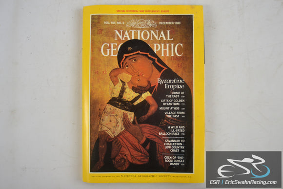 National Geographic Magazine - Europe Vol 164.6 December 1983