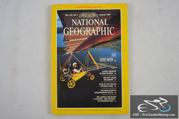 National Geographic Magazine - South Vol 164.2 August 1983
