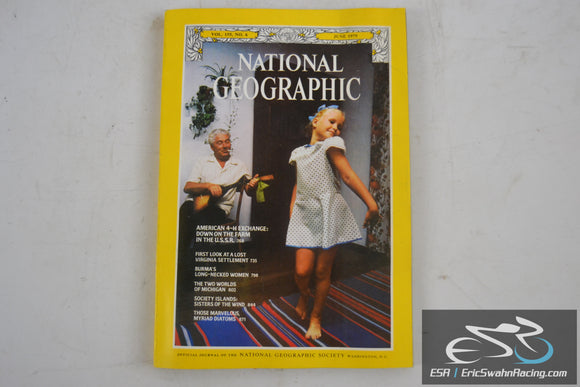 National Geographic Magazine - Lost Settlement, Michigan Vol 155.6 June 1979