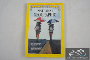 National Geographic Magazine - Bird Migration, Walk America Vol 156.2 August 1979