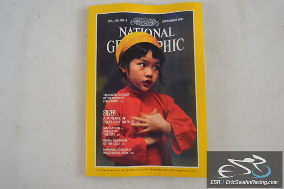 National Geographic Magazine - Silver, Manhattan Vol 160.3 September 1981