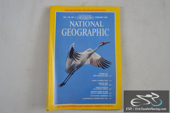 National Geographic Magazine - West Indes, Texas Coast Vol 159.2 February 1981