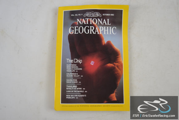 National Geographic Magazine - The Chip, Thailand Vol 162.4 October 1982