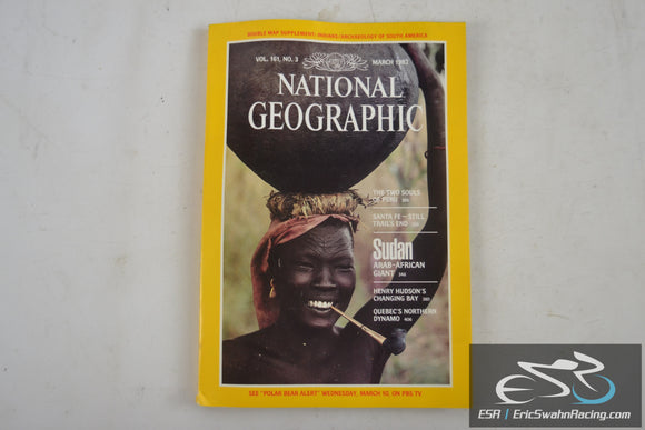 National Geographic Magazine - South American Indians Vol 161.3 March 1982