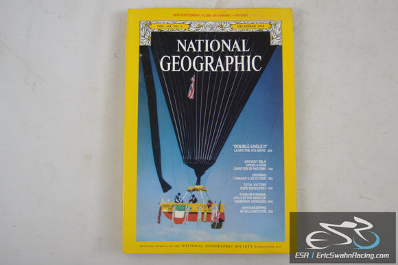 National Geographic Magazine - Ontario, Ebla Vol 154.6 December 1978