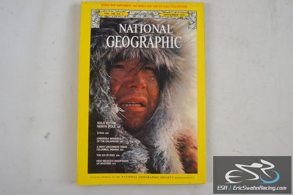 National Geographic Magazine - Mid East, North Pole Vol 154.3 September 1978