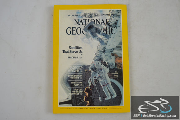 National Geographic Magazine - Satellites, Spacelab Vol 164.3 September 1983