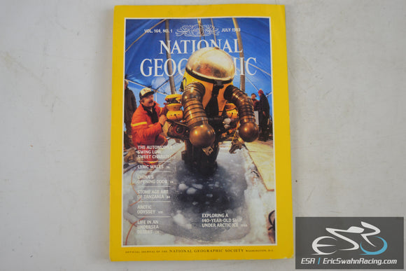 National Geographic Magazine - Automible, Wales Vol 164.1 July 1983