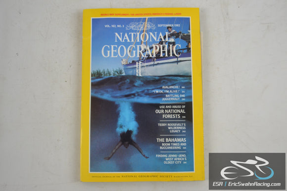 National Geographic Magazine - United States Avalanche! Vol 162.3 September 1982