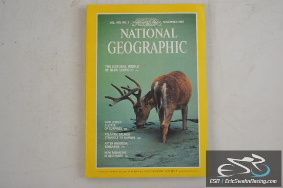 National Geographic Magazine - New Jersey, Zimbabwe Vol 160.5 November 1981