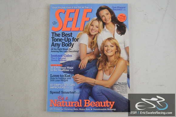 Self Magazine - Be A Natural Beauty, Get Happy Secrets October 2009