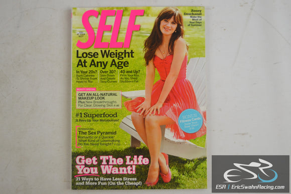 Self Magazine - The Sex Pyramid, Get The Life You Want August 2009