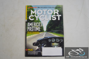 Motorcyclist Magazine - America's Pastime December / January 2017